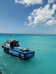 Barbados - Boat in Harbor