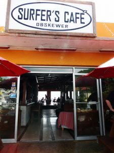 Surfer Cafe lunch spot in Barbados