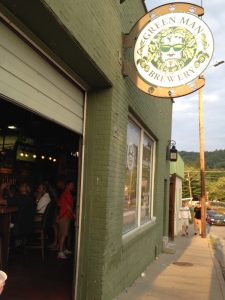 Green Man Brewery Asheville NC