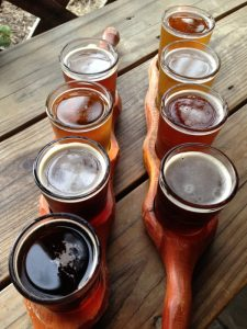 Green Man Brewery Asheville NC Sampler